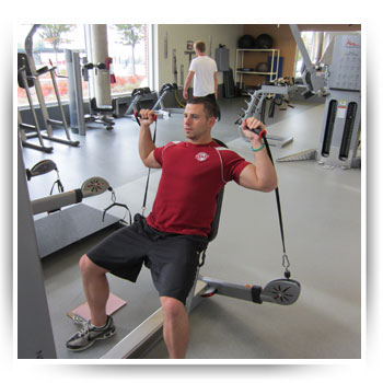 Free Motion Cable Shoulder Press